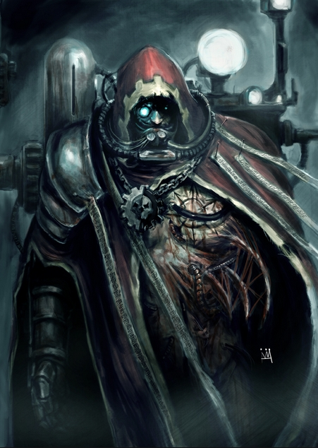 Tech priest