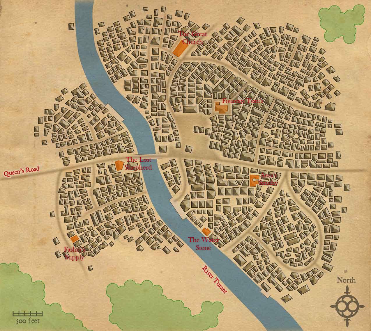Brindinford map