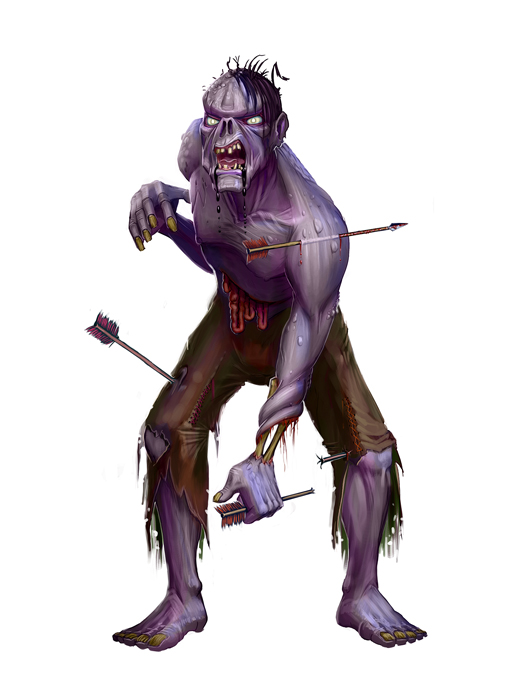 Zombie for paizo by michael jaecks