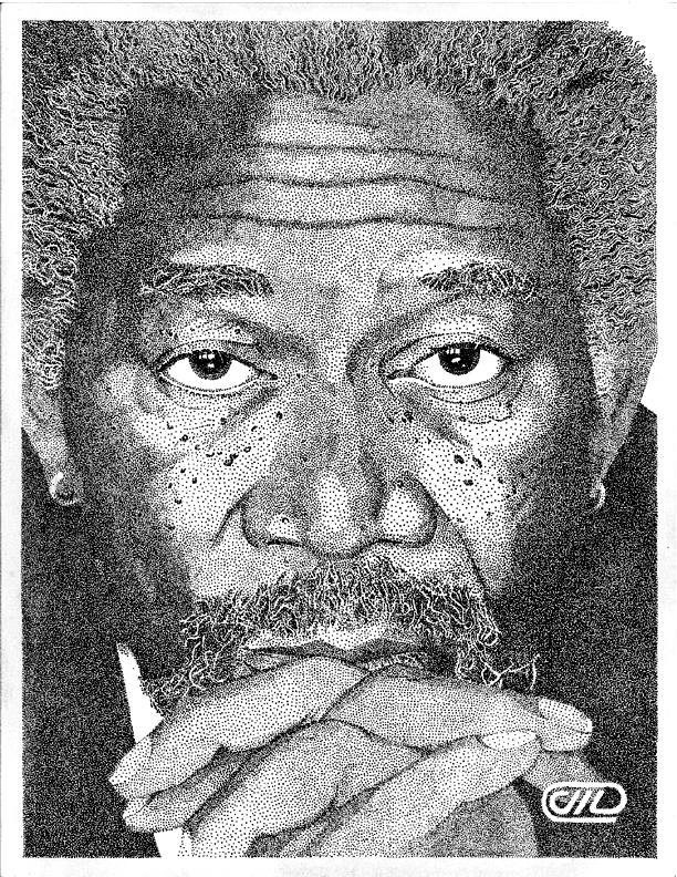 Morgan freeman by point taken