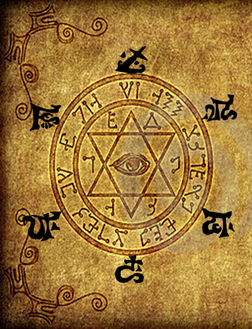 Page of the elder sign