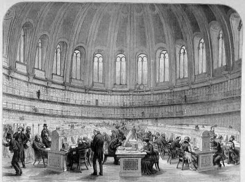 British museum reading room
