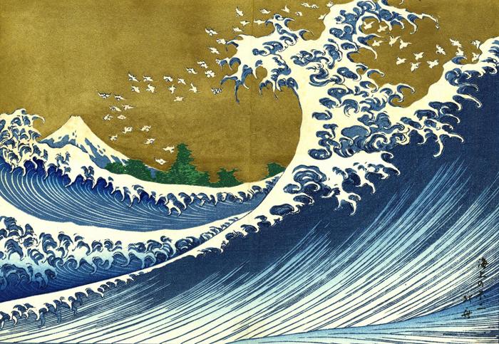 Hokusai wave 2s