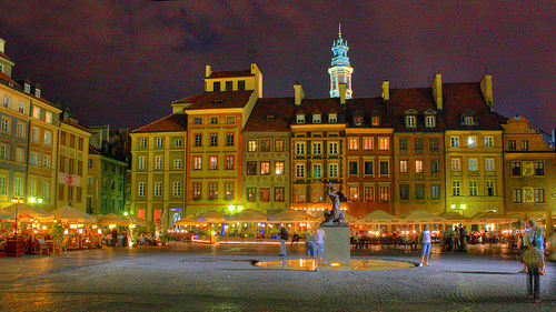 Recompense town square
