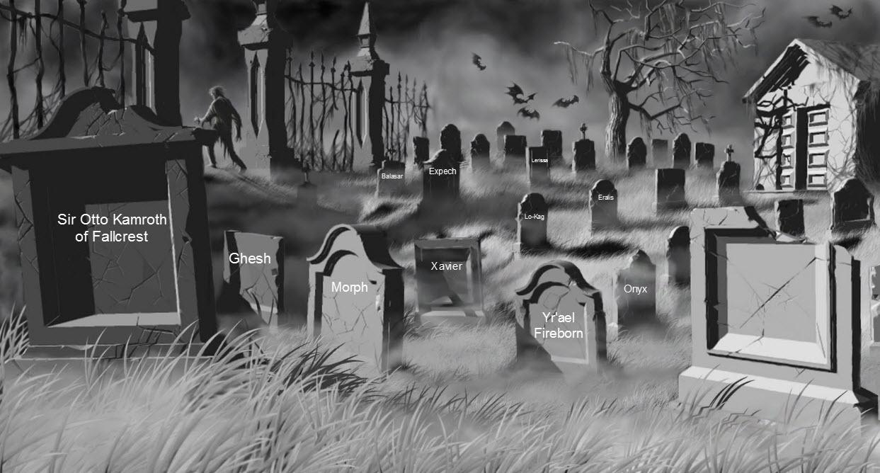 Ians graveyard