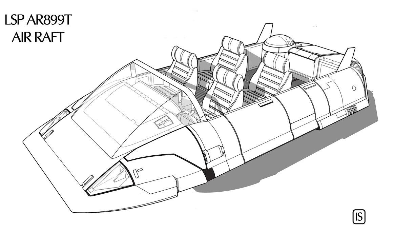 Traveller air raft by biomass d6nnol2