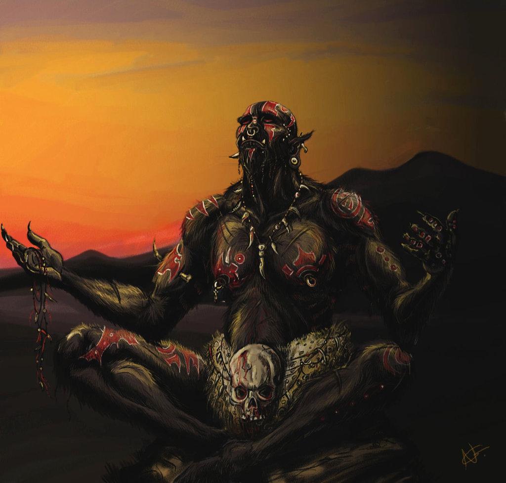 Black orc shaman