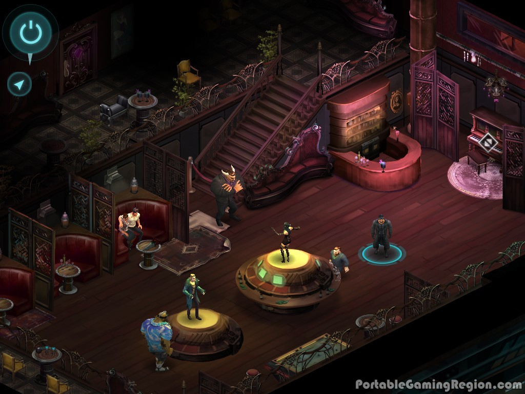 Shadowrun returns android i os gameplay screenshot by pgr 2013