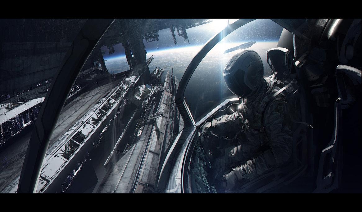 Spaceship by andreewallin d5vtewf