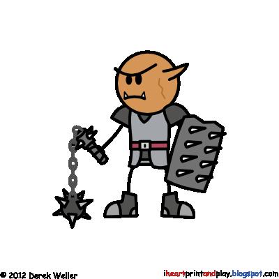 Hobgoblin battle guard