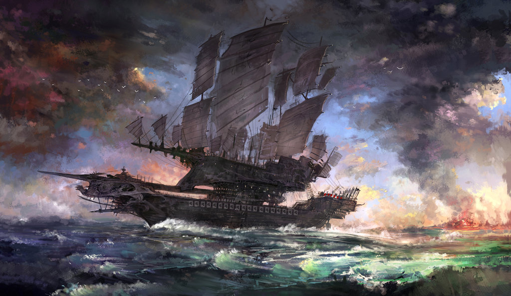 Battle ship by gongsang81 d6d9xeu