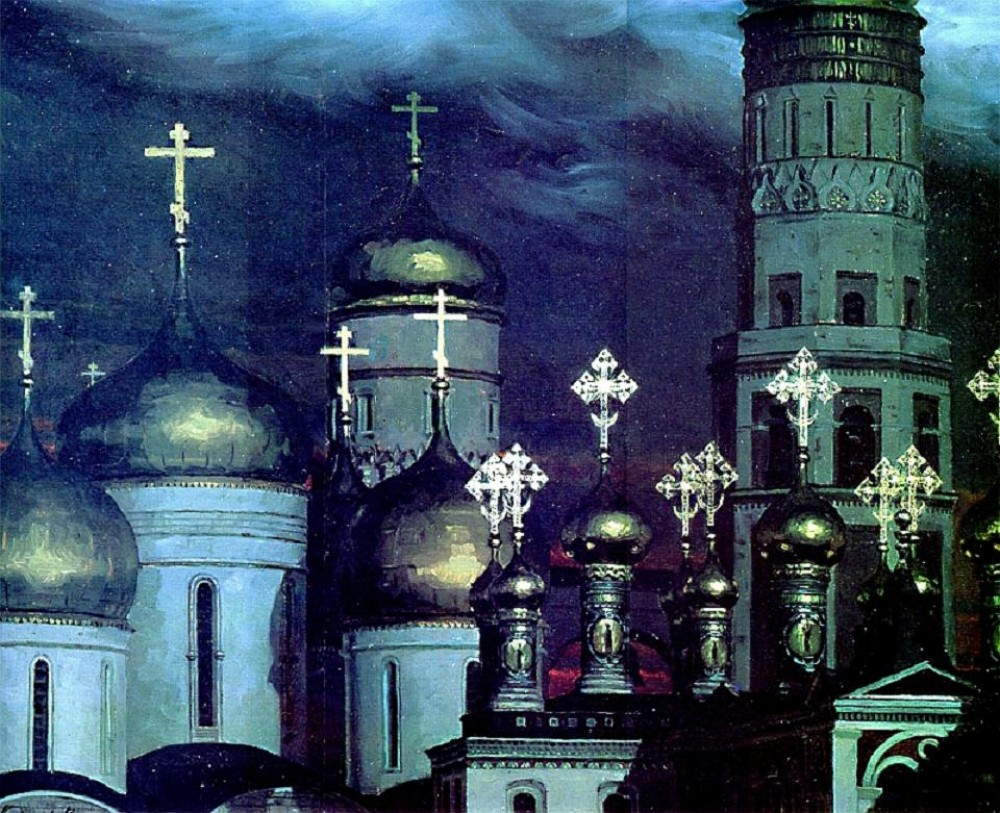 Sergei kirillov domes the moscow kremlin in the 17th century 1990 e1271920572651