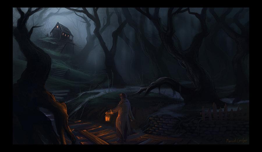 Dark marsh by marschelarts d31ygcc