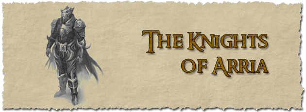 Knights banner