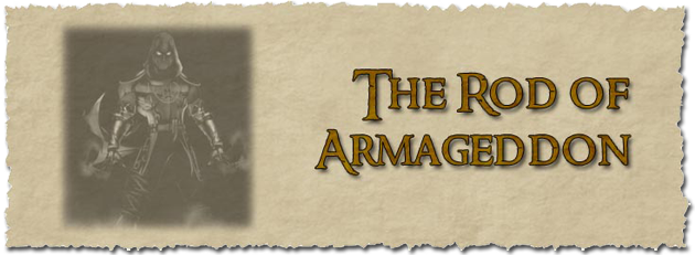 Rod of armageddon banner
