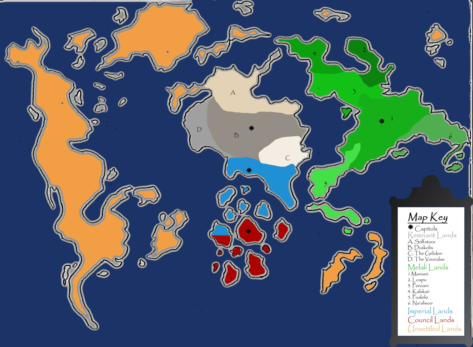 World alatha map
