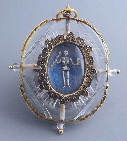 Fabian de montjoye artfinding medallion renaissance memento mori 16th century 12259492141807