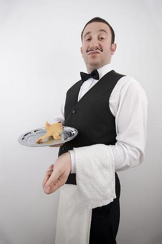 French waiter