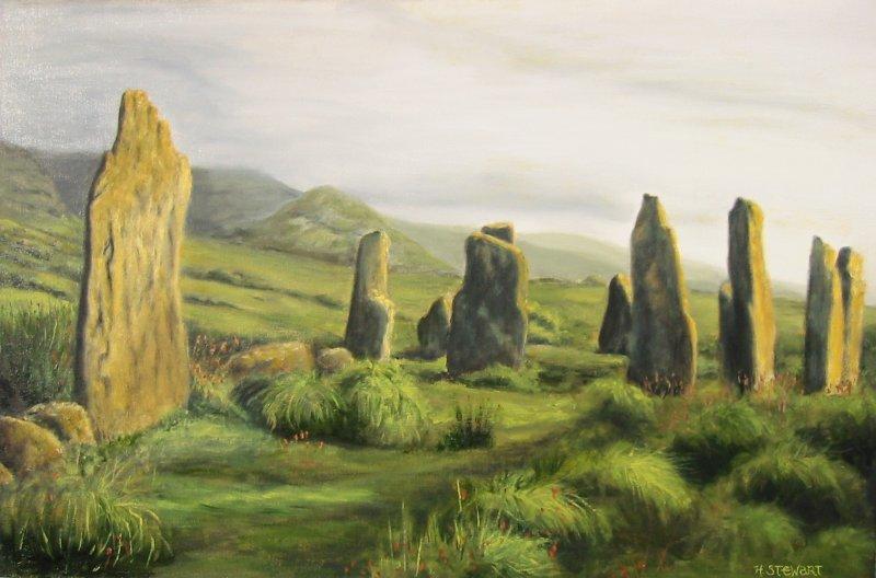 Irish stone circle2