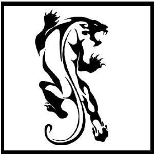 Panther tattoos 1