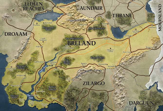 669px d d   4th edition   eberron map breland