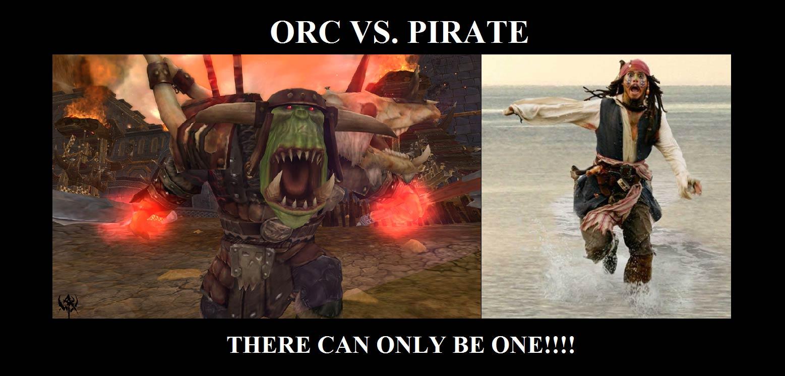 Orc vs pirate web