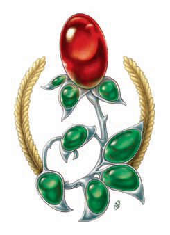Symbol of chauntea