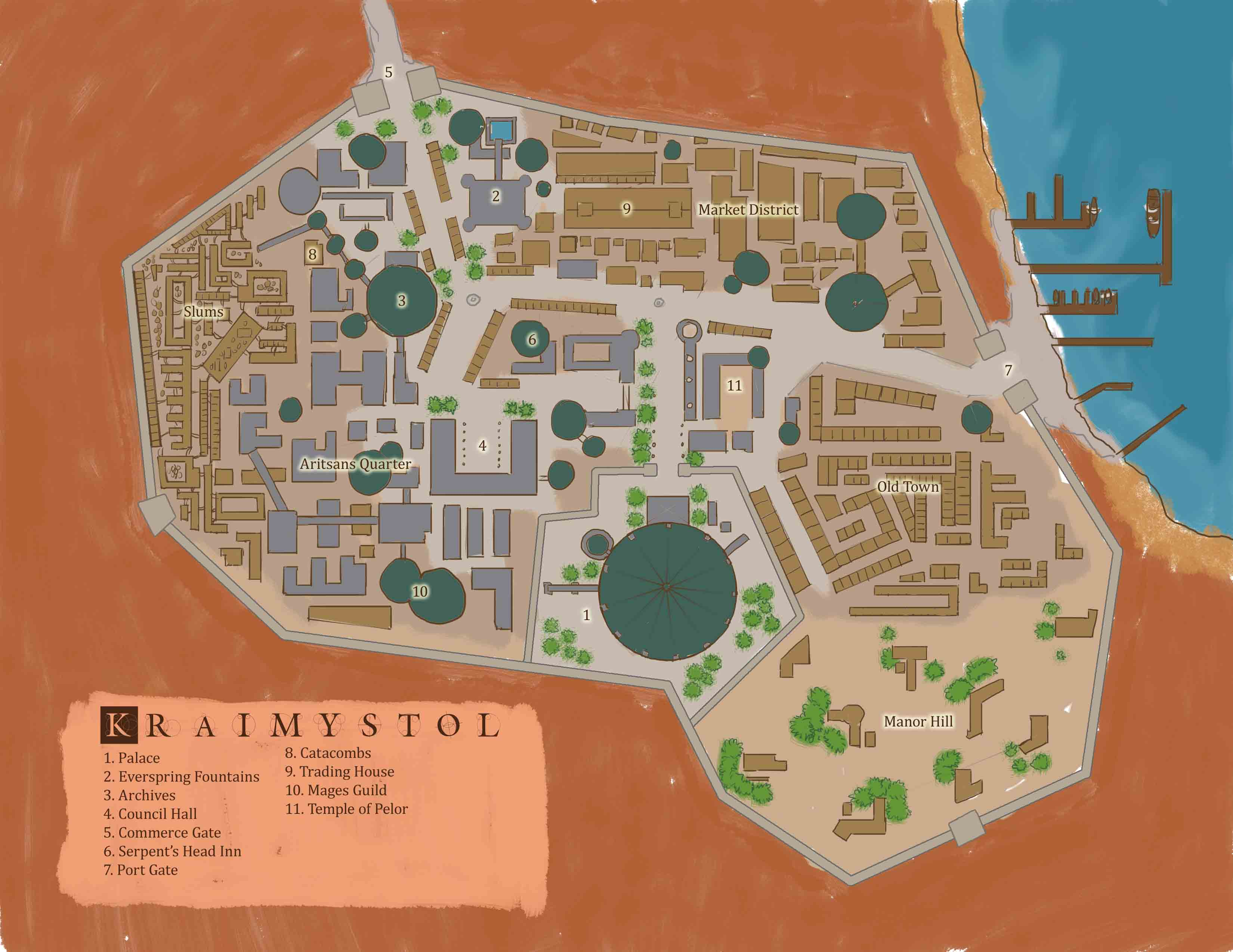 Kraimystol map wiki