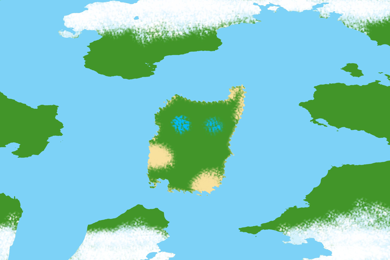 Map  pandora