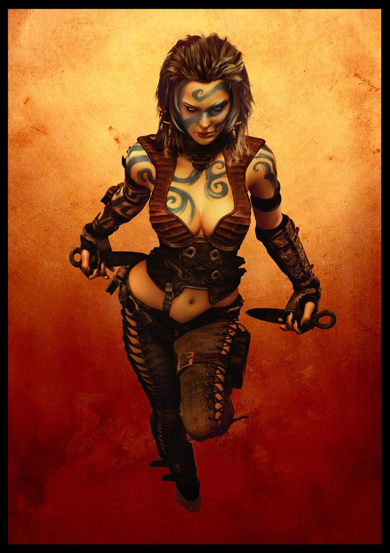 Darksun warrior woman