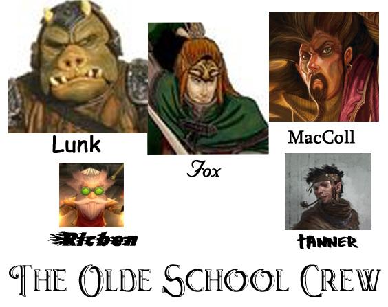 Olde skool crew