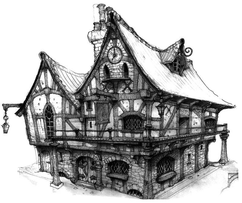 Gilded lady tavern