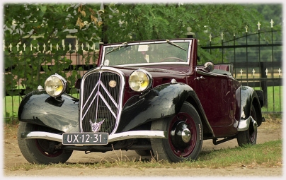 Citroen convertible 1937a
