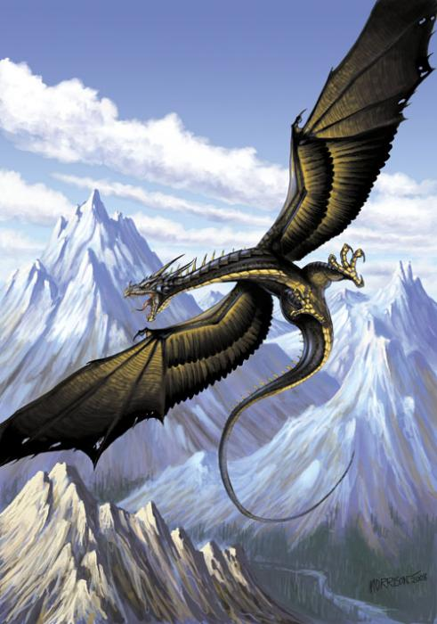 Mountain wyvern