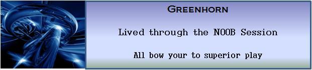 N   greenhorn