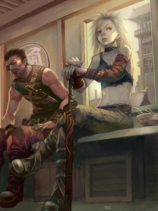 Fabled mercenary swordsman