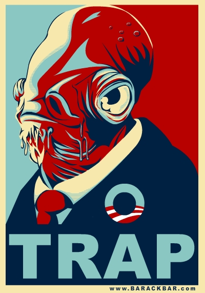 Barackbar 08 he knows when its a trap barack obama 2008 campaign spoof admiral ackbar
