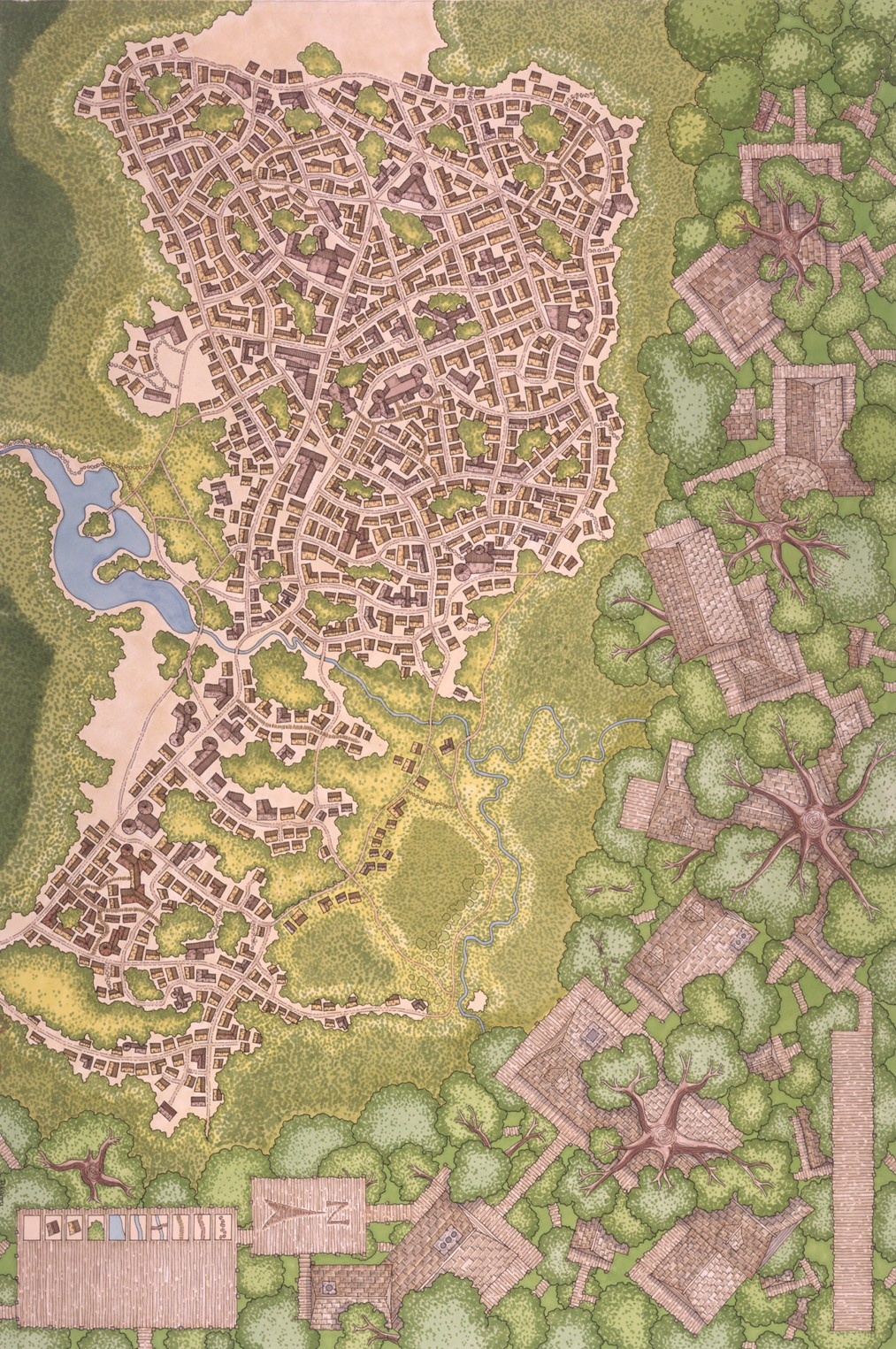 Forested city 1 150dpi