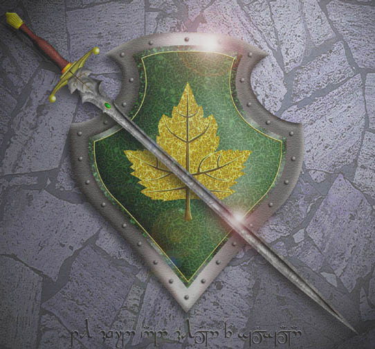 Shalwood sword and shield
