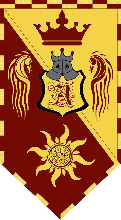 Allundarian kingdom banner by sub zero983