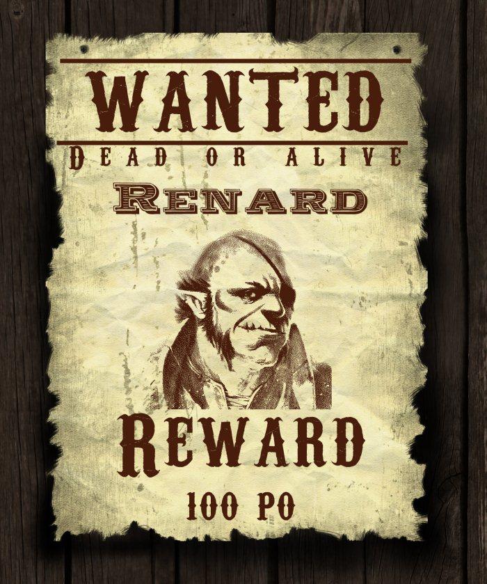 Renard wanted