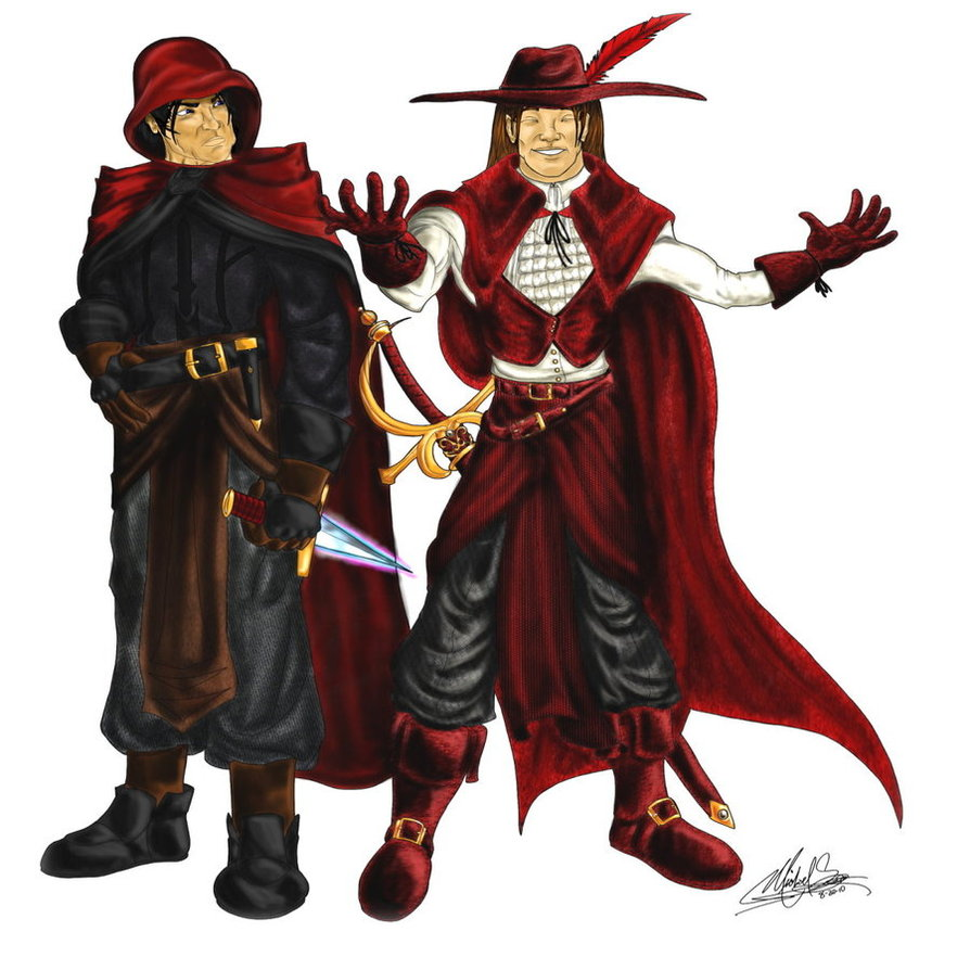 The scarlet rogues by duskreign d34wlzj