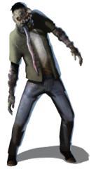 Tonguelash zombie