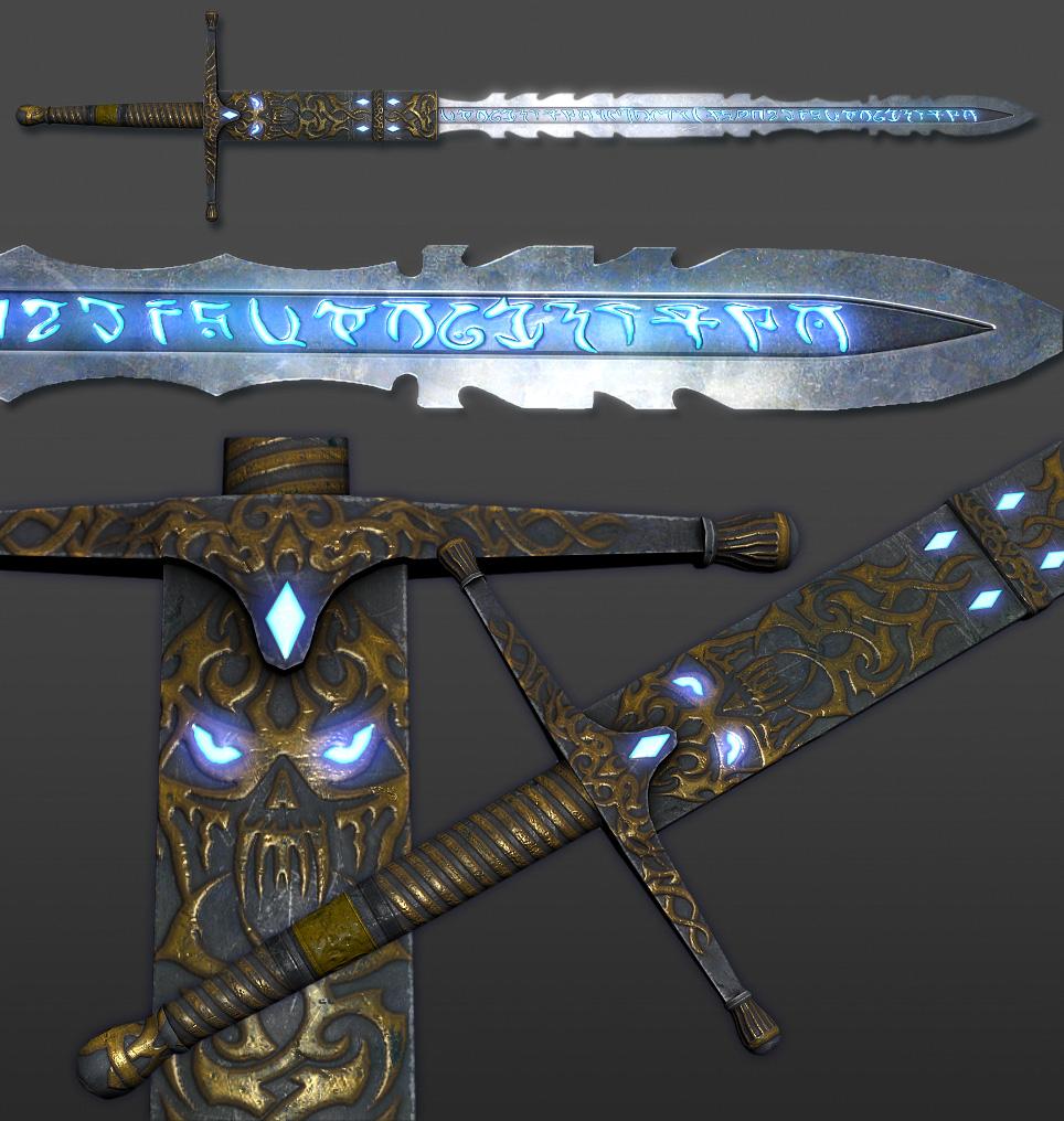 Frost sword