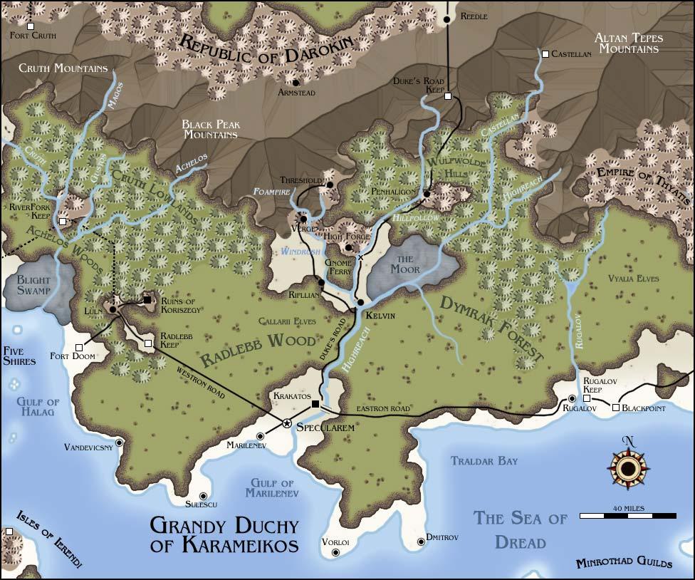 Grand duchy karameikos no hex