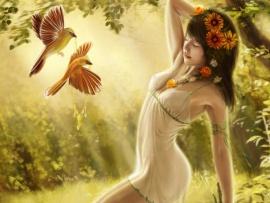 Sylestra   autumnal dryad