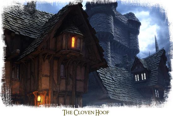 The cloven hoof