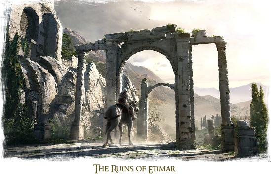 The ruins of etimar