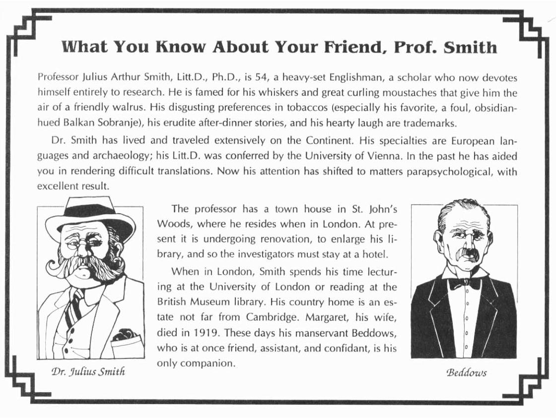 Prof smith