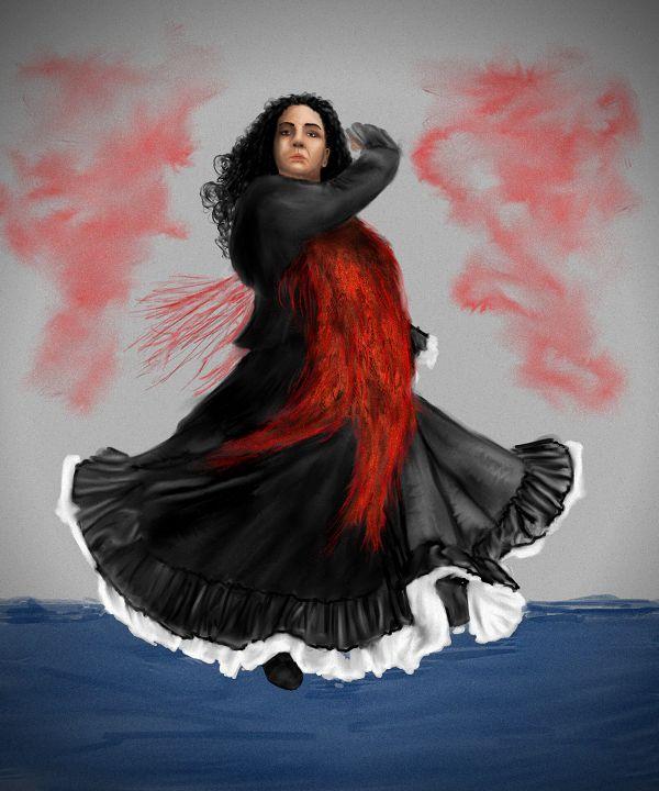 Baronowa jest znaną koneserką flamenco